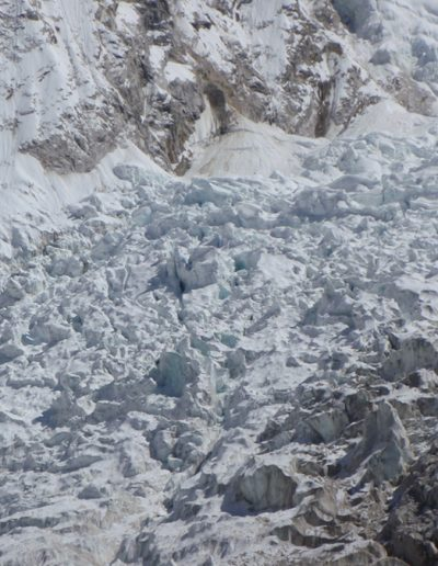 The fearsome Khumbu Icefall