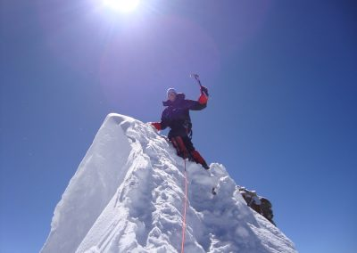 Rob on the summit of Manasalu