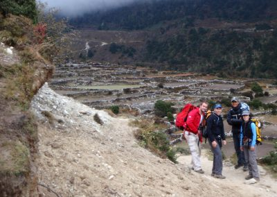 Arriving-into-Pangboche-after-6-8-hours-on-the-trail.-A-job-well-done