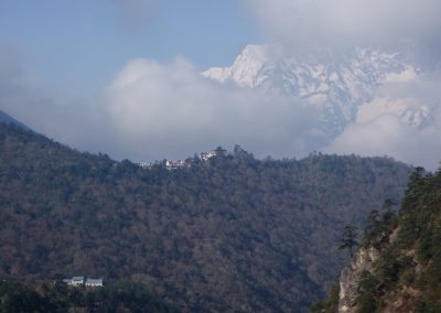 Distant-view-back-down-valley-of-Tengboche-and-its-monastery-taken-from-near-Pangboche