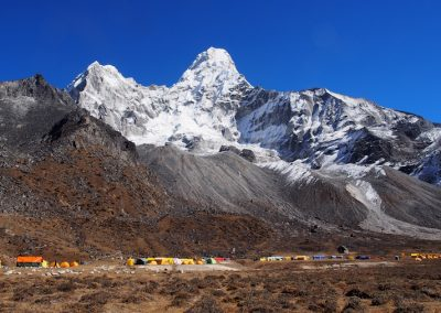 Ama Dablam Base Camp acclimatization trek