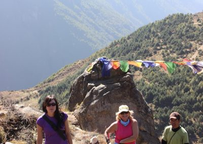 Acclimatisation trek to Khumjung