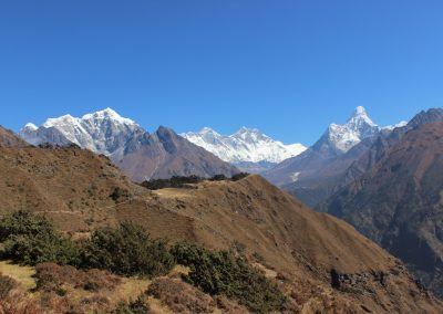 The Khumbu Valley in all of its glory