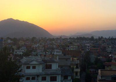 Kathmandu sunset