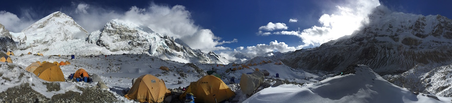 Panorama from Everest Base Camp