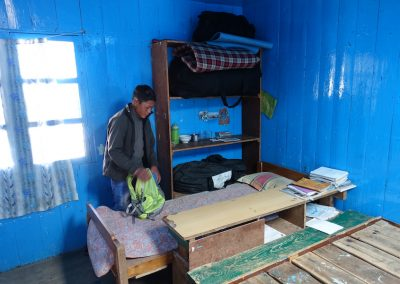 Pradip's dormitory at the Hilary School, Khumjung