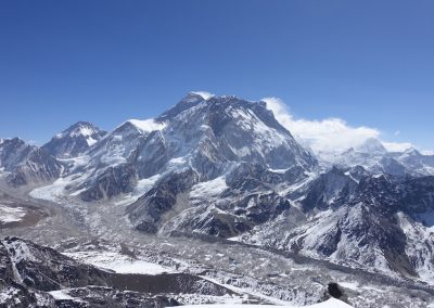 The climb - The Everest massif