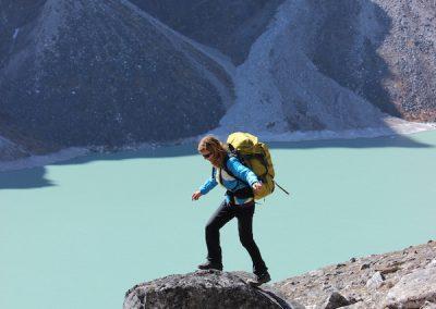 Tsho Rolpo (Glacial Lake), Cholatse - enroute to Dzhongla