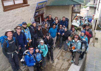 Paiden and Tsering Namaste Lodge Namche Bazaar
