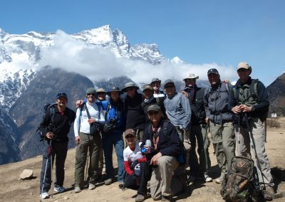 Some of our happy team members from previous treks