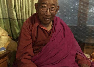 Lama Geshe at home