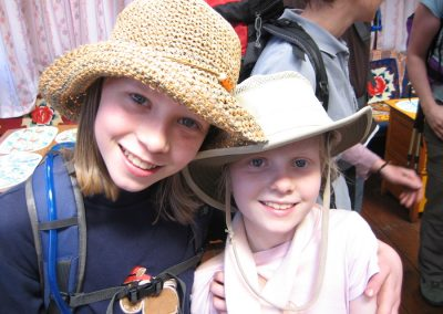Girls just want to have fun! The trek to Base Camp is available to a wide range of age-groups